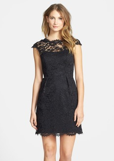 Shoshanna 'Olivia' Lace Sheath Dress