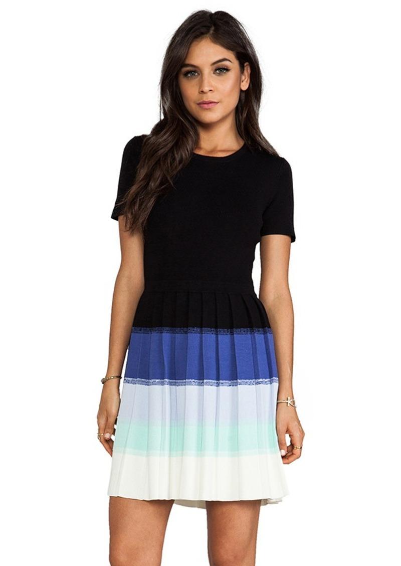 Shoshanna Ombre Berkley Sweater Dress in Black