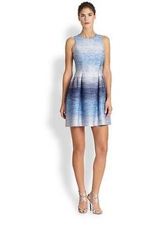 Shoshanna Ombre Tweed Helena Dress