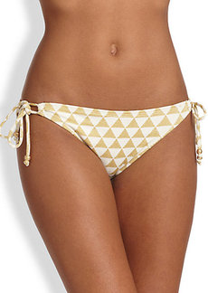 Shoshanna Palm Desert -Triangles Bikini Bottom