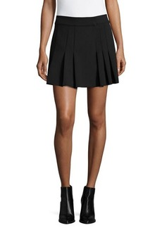 Shoshanna Pleated Mini Skirt  Pleated Mini Skirt