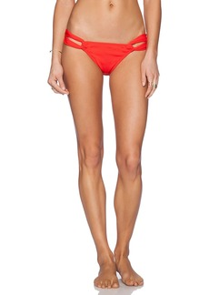 Shoshanna Poppy Textured Bikini Bottom