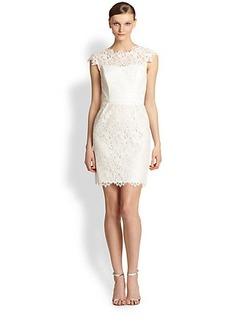 Shoshanna Scarlett Lace Dress