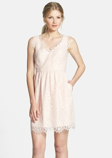 Shoshanna 'Sierra' Lace Fit & Flare Dress