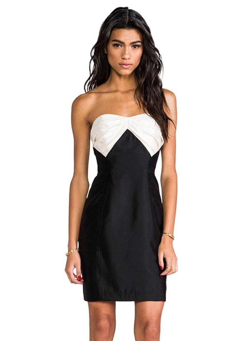 Shoshanna Stella Dress in Black