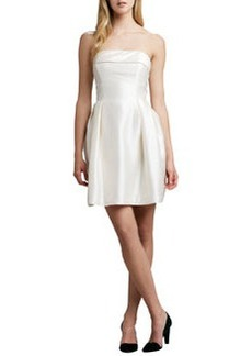 Shoshanna Strapless Party Dress, Ivory