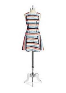 SHOSHANNA Striped Drop Waist Dress