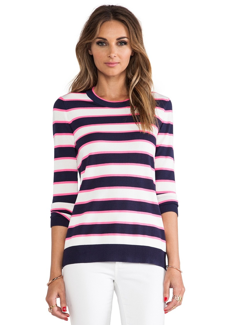 Shoshanna Striped Kim Sweater