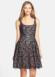 Shoshanna 'Svetlana' Lace Fit & Flare Dress