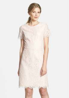 Shoshanna 'Valeria' Lace Sheath Dress