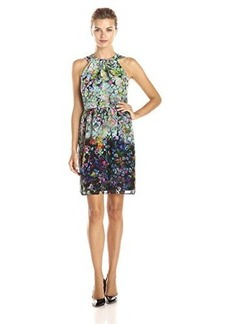 Shoshanna Women's Adrianna Dress, Ink Multi, 12