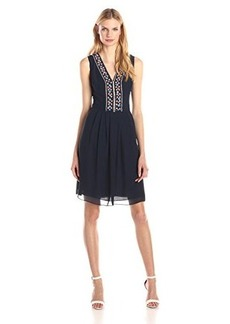 Shoshanna Women's Luna Embroidered Dress