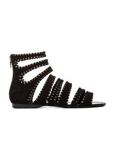 Sigerson Morrison Aisley Sandal in Black