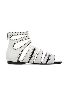 Sigerson Morrison Aisley Sandal in White