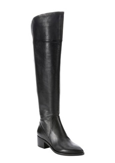 Sigerson Morrison black leather 'Solly' over-the-knee boots