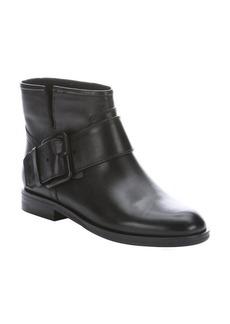 Sigerson Morrison black leather 'Suna' ankle boots