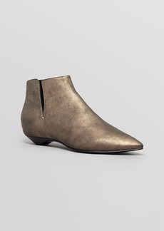 Sigerson Morrison Flat Pointed Toe Booties - Gabrielle