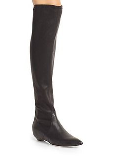 Sigerson Morrison Napa Leather Over-The-Knee Boots