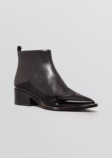 Sigerson Morrison Pointed Toe Booties - Nina