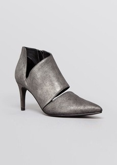 Sigerson Morrison Pointed Toe Booties - Siria High Heel