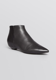 Sigerson Morrison Pointed Toe Flat Booties - Gabrielle