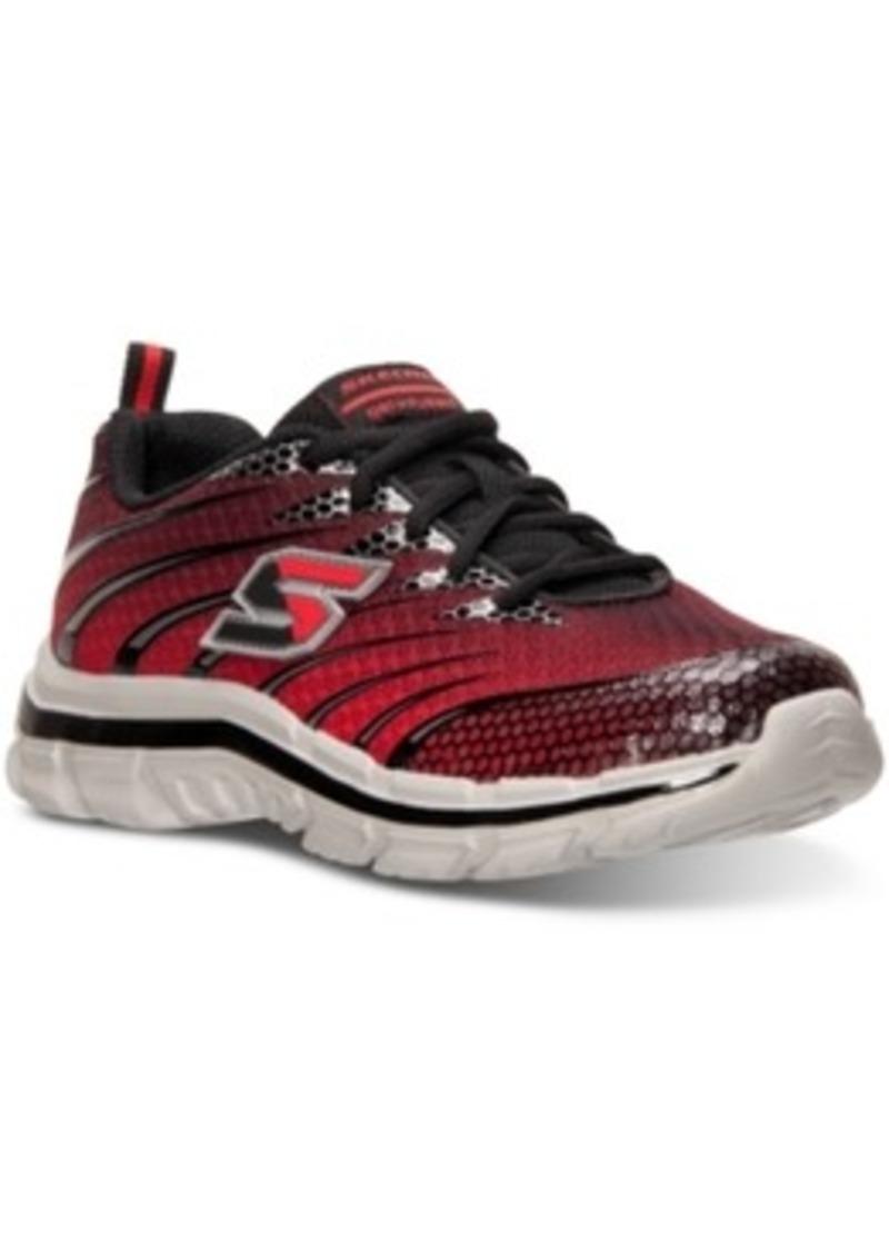 Skechers Boys Nitrate Realms Running Sneakers