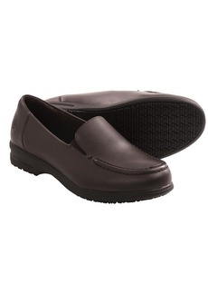 Skechers Caviar Three Work Shoes - Leather, Slip-Ons (For Women)