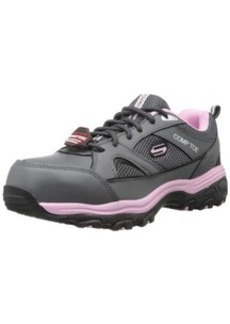 Skechers for Work Women's D'Lite SR Slip Resistant Work Shoe