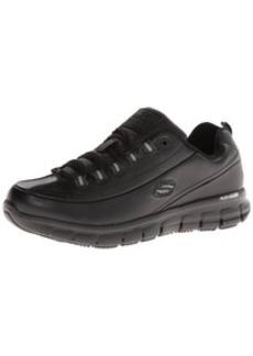 Skechers for Work Women's Sure Track Trickel Slip Resistant Work Shoe