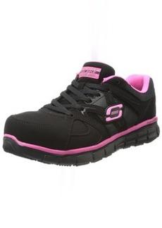 Skechers for Work Women's Synergy Sandlot Slip Resistant Work Shoe