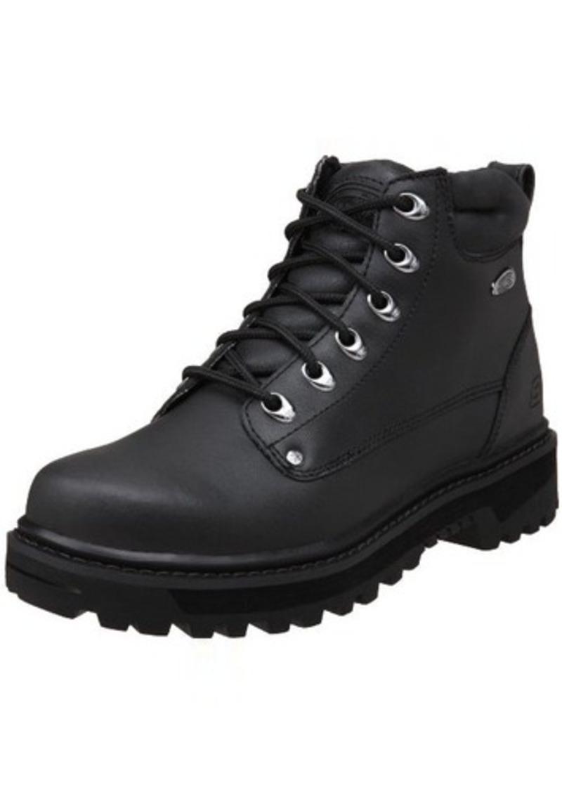 skechers skechers usa s pilot utility boot shoes