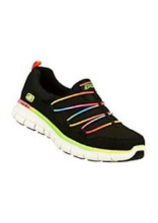 "Skechers® Sport ""Loving Life"" Casual Sneaker - Black Multi"