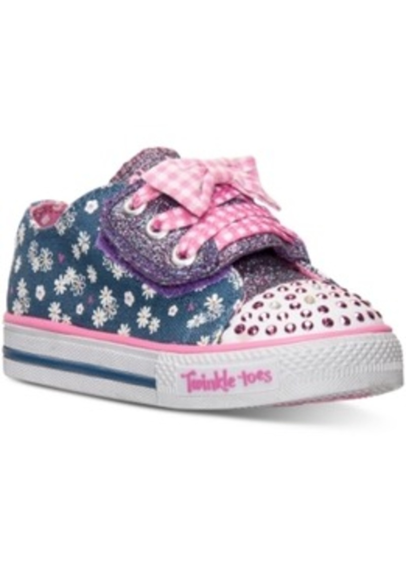 Skechers Skechers Toddler Girls Twinkle Toes Shuffles