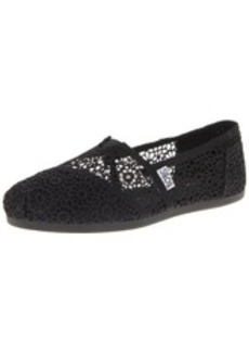 Skechers Women's Bobs Plush Pearlized Crochet Flat