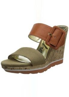 Skechers Women's Cutting Edge Luggy Wedge Sandal