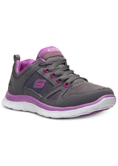 Skechers Women's Flex Appeal-Spring Fever Memory Foam Running Sneakers from Finish Line