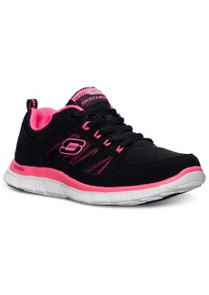 Skechers Women's Flex Appeal-Spring Fever Memory Foam Running Sneakers from Finish Line