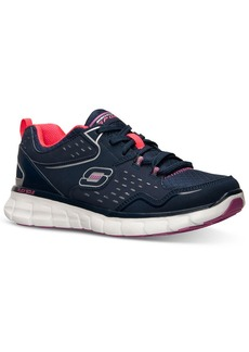 Skechers Women's Front Row Memory Foam Running Sneakers from Finish Line