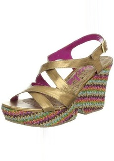 Skechers Women's Full Moon Howl Wedge Sandal