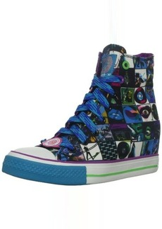 Skechers Women's Gimme-Rock N Roller Fashion Sneaker