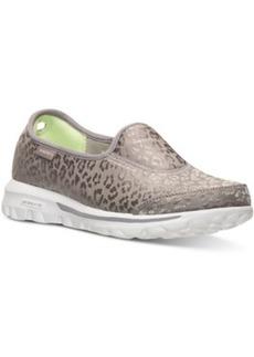 Skechers Women's GOwalk - Safari Slip-On Walking Sneakers from Finish Line