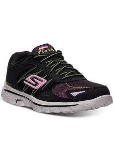 Skechers Women's GOwalk 2 - Flash Walking Sneakers from Finish Line