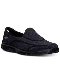 Skechers Women's GOwalk 2 Super Sock Walking Sneakers from Finish Line