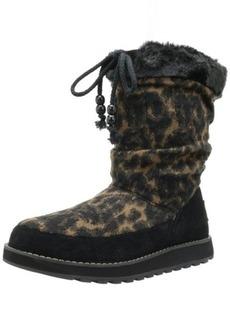 Skechers Women's Keepsakes-Animal Knit Snow Boot