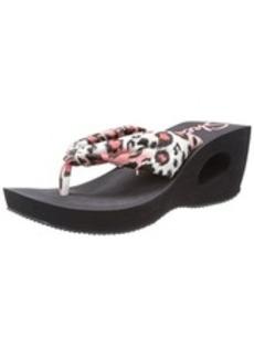 Skechers women's Key Holes-Peek Wedge Sandal