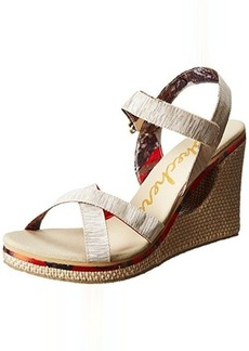 Skechers Women's Loveshine-Crazy Style Wedge Sandal