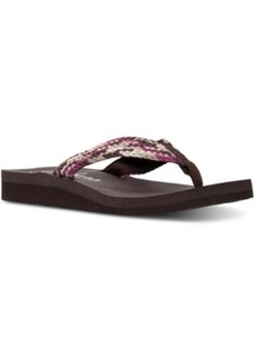 Skechers Women's Meditation - Interweave Comfort Flip-Flop Sandals from Finish Line