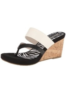 Skechers Women's Modiste-Animalistic Wedge Sandal