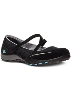 Skechers Women's Relaxed Fit Breathe Easy Quittin Time Memory Foam Casual Sneakers from Finish Line