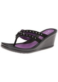 Skechers Women's Rumblers-Lotus Flower Wedge Sandal